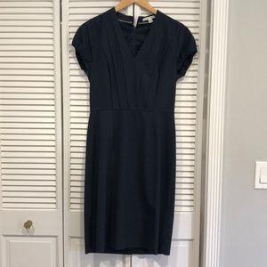 Banana Republic Navy Sheath Dress